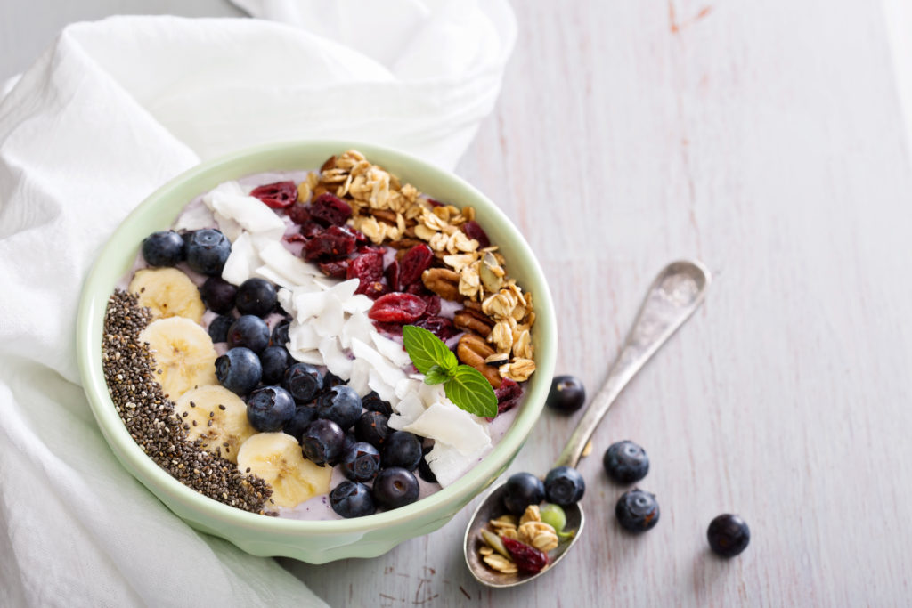 Instagram worthy breakfast bowls
